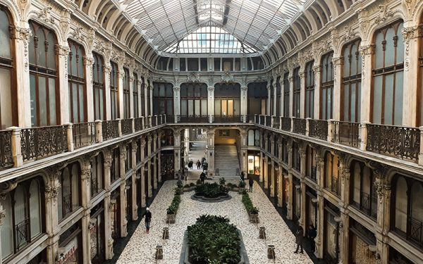 Quiet building in Turin