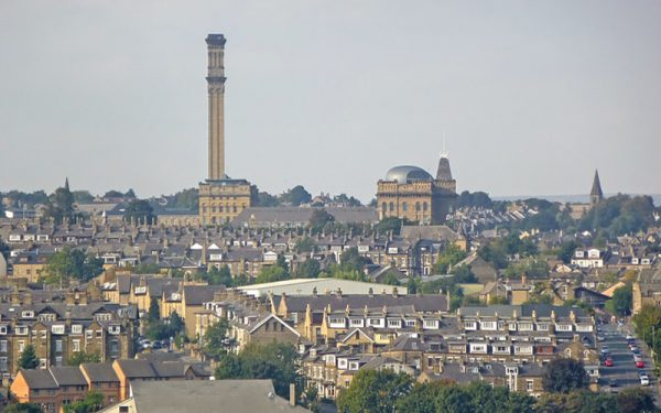 A cloudy day over Bradford